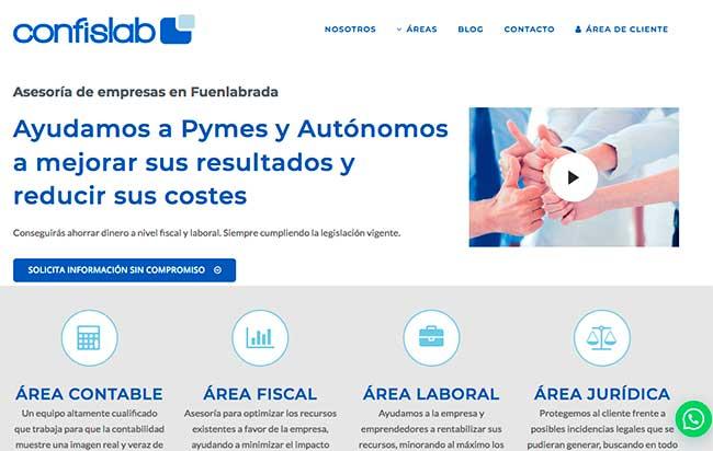 portfolio diseño web beeway